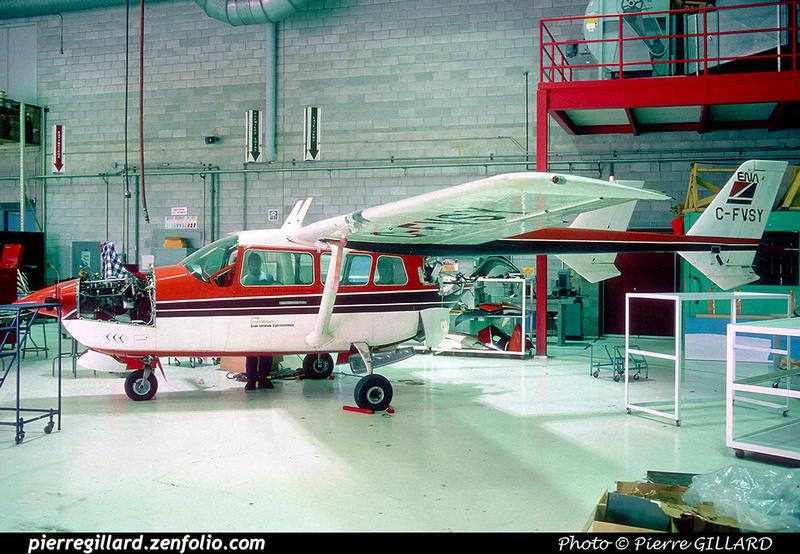 Pierre GILLARD: Cessna 337 C-FVSY &emdash; 041138