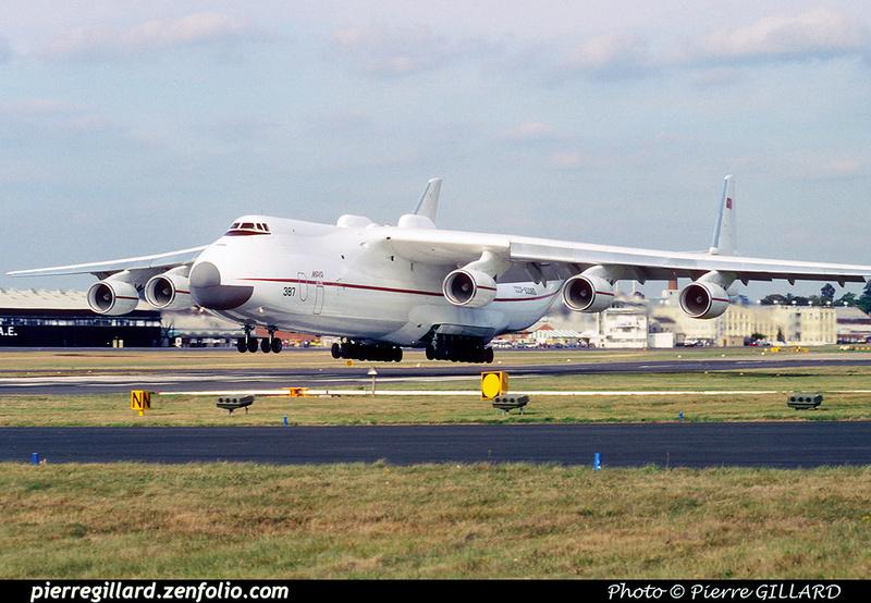 Pierre GILLARD: 1990-09-02 & 03 - Farnborough Airshow &emdash; 1990-0803