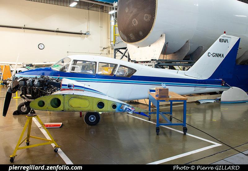 Pierre GILLARD: Piper PA23 C-GNMA &emdash; 2021-428880