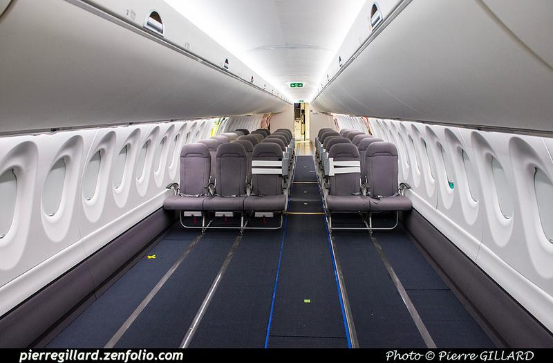 Pierre GILLARD: Fuselage Airbus A220-100 &emdash; 2021-428899