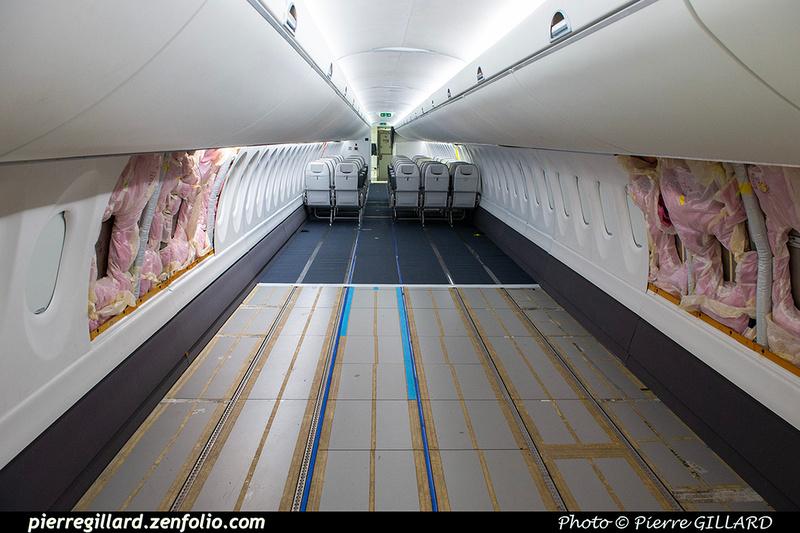 Pierre GILLARD: Fuselage Airbus A220-100 &emdash; 2021-428892