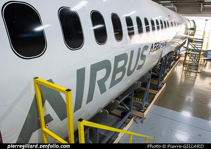 Pierre GILLARD: Fuselage Airbus A220-100 &emdash; 2021-428908