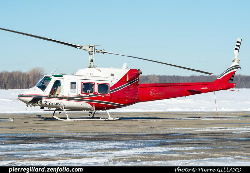 Pierre GILLARD: Canada - Mustang Helicopters &emdash; 2021-625819
