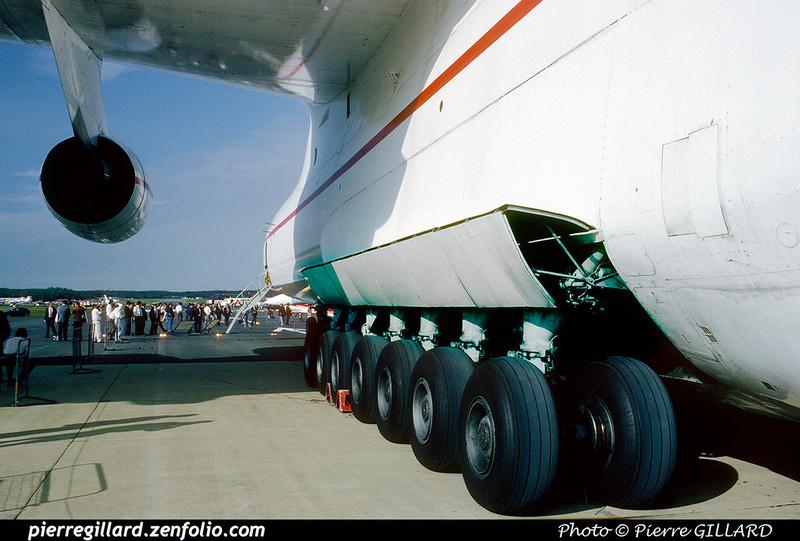 Pierre GILLARD: 1990-09-02 & 03 - Farnborough Airshow &emdash; 1990-0820