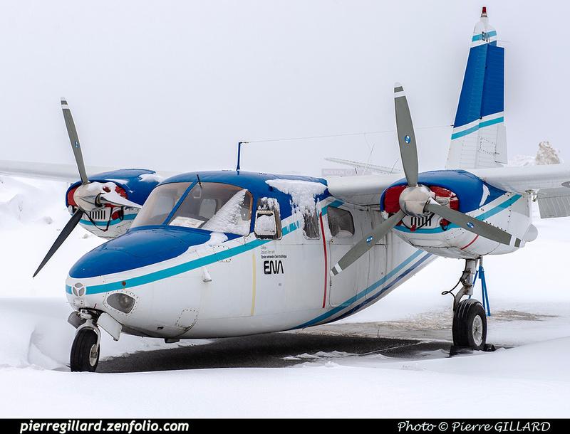 Pierre GILLARD: AeroCommander C-FPED &emdash; 2021-428952