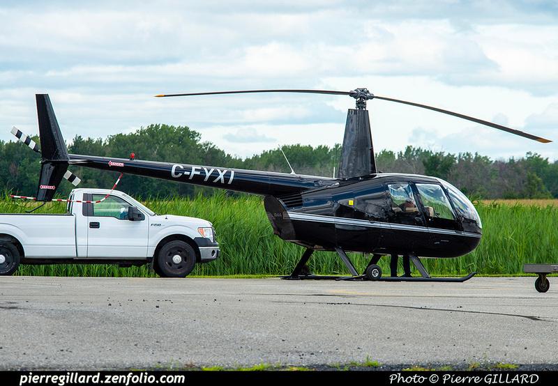 Pierre GILLARD: Canada - Hélicoptères privés - Private Helicopters &emdash; 2021-626836