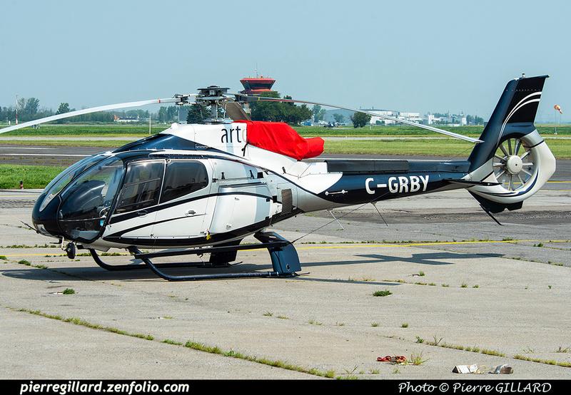 Pierre GILLARD: Canada - Hélicoptères privés - Private Helicopters &emdash; 2021-626907