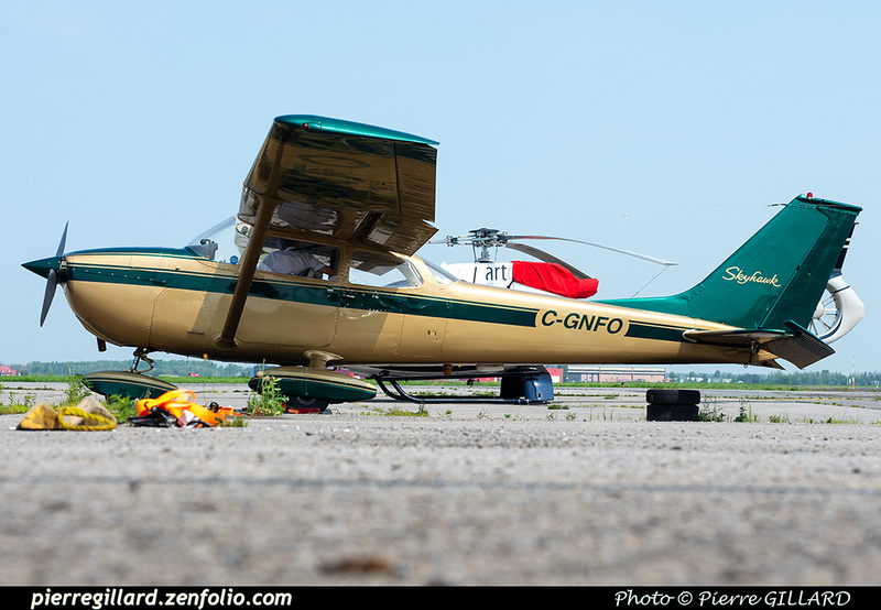 Pierre GILLARD: Private Aircraft - Avions privés : Canada &emdash; 2021-430168
