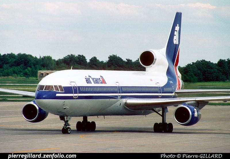 Pierre GILLARD: Air Transat &emdash; 023515