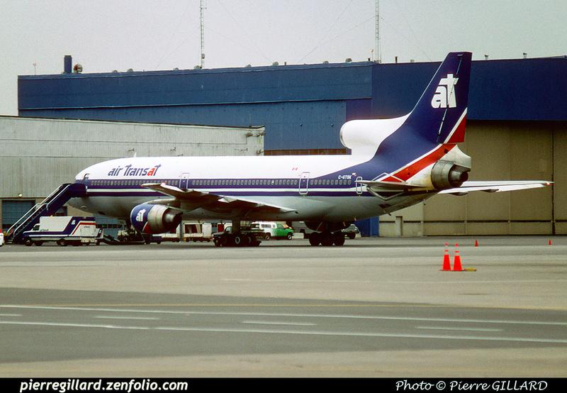 Pierre GILLARD: Air Transat &emdash; 023495