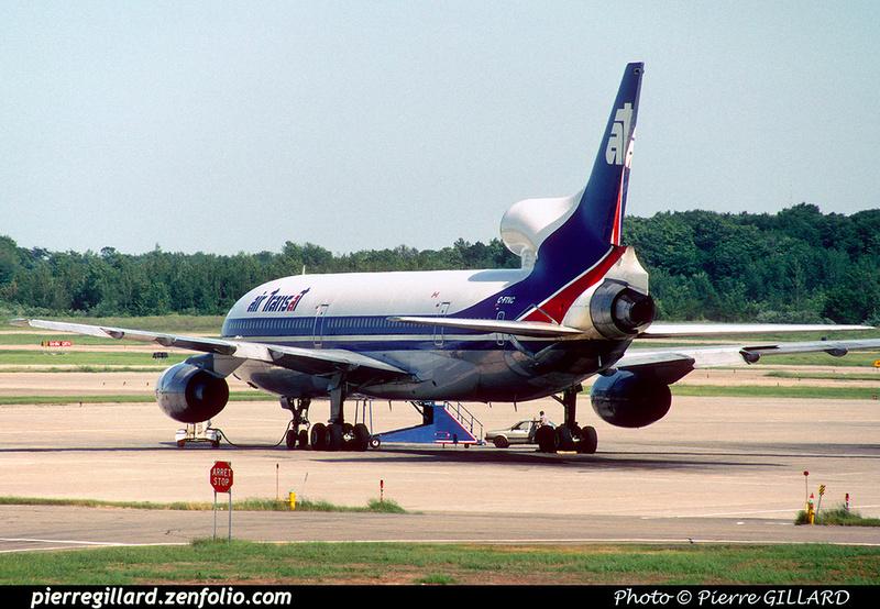 Pierre GILLARD: Air Transat &emdash; 023496