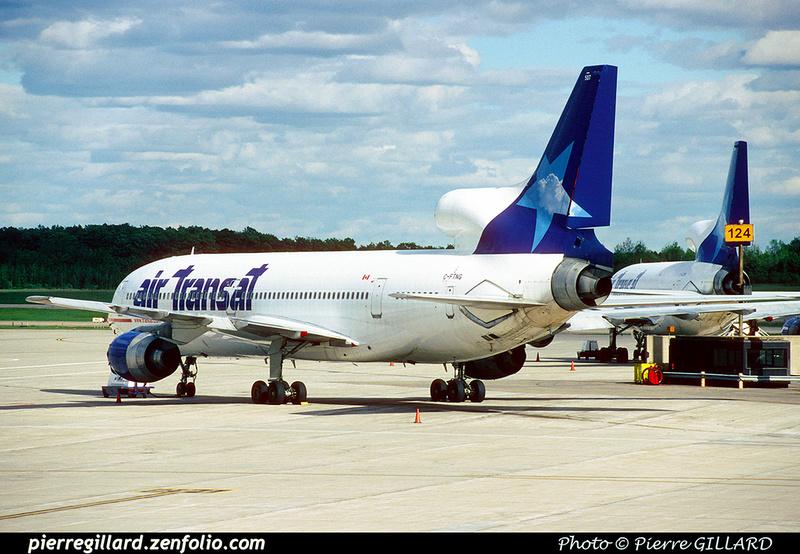 Pierre GILLARD: Air Transat &emdash; 023516