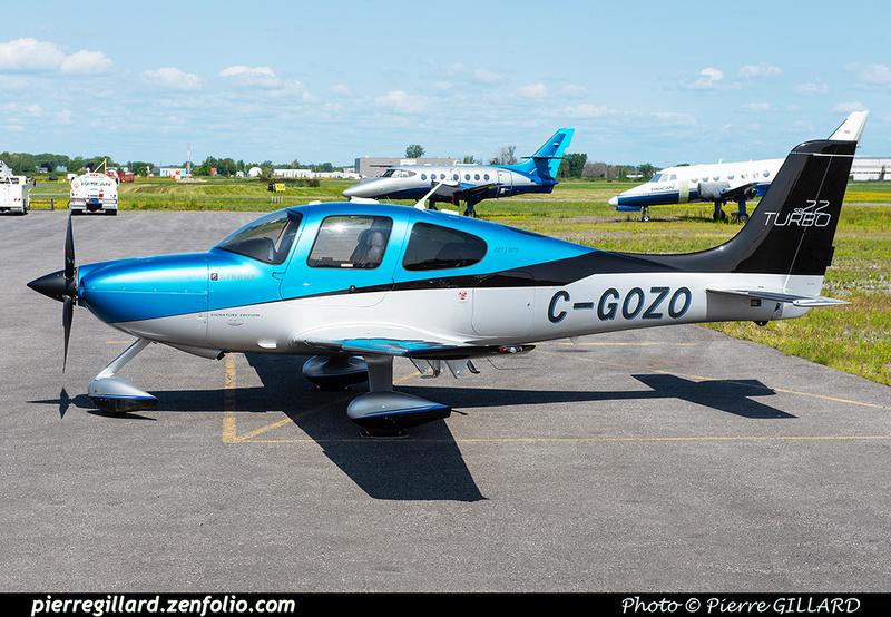 Pierre GILLARD: Private Aircraft - Avions privés : Canada &emdash; 2021-430214