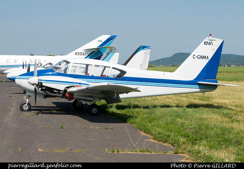 Pierre GILLARD: Piper PA23 C-GNMA &emdash; 2012-128434