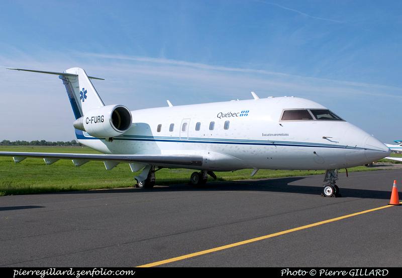 Pierre GILLARD: Canadair CL-601 Challenger C-FURB &emdash; 004672