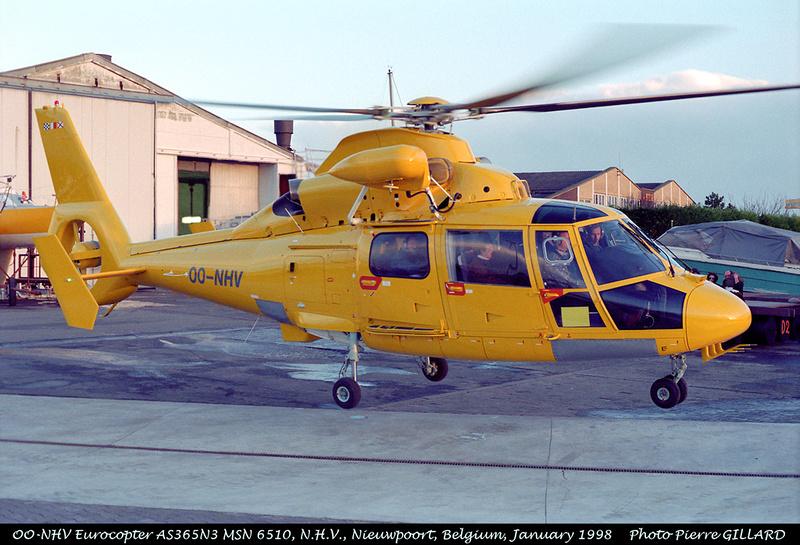Pierre GILLARD: Belgium - NHV - Noordzee Helikopters Vlaanderen &emdash; 227-5-3A
