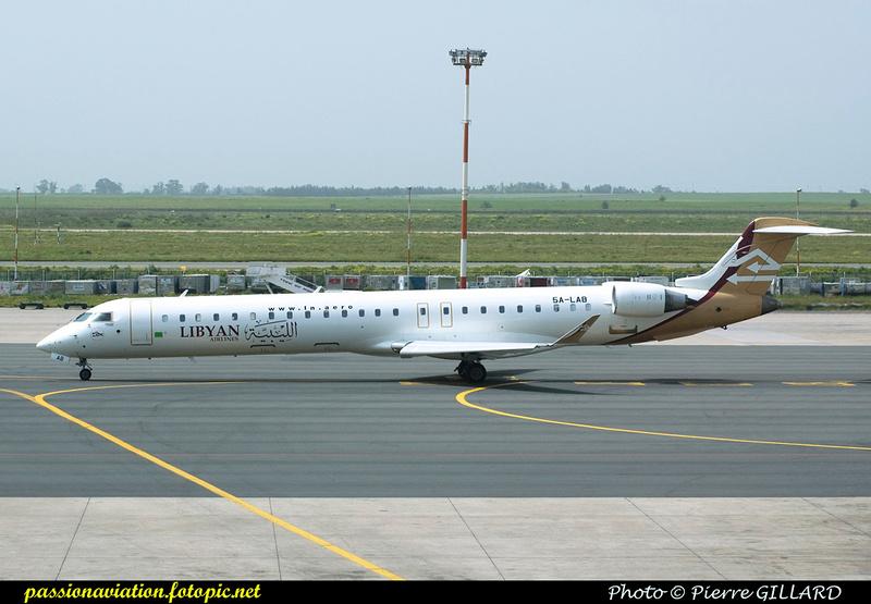 Pierre GILLARD: Libyan Airlines &emdash; 003844