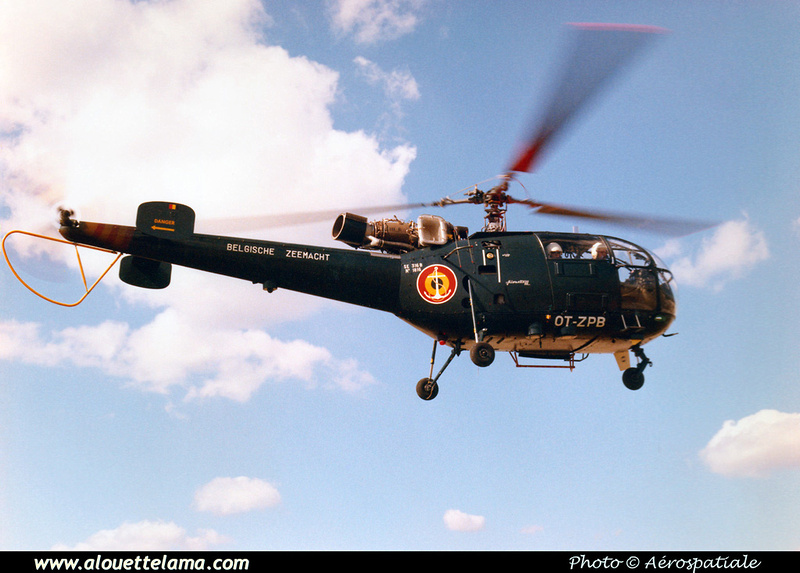 Pierre GILLARD: Alouette III &emdash; 008536