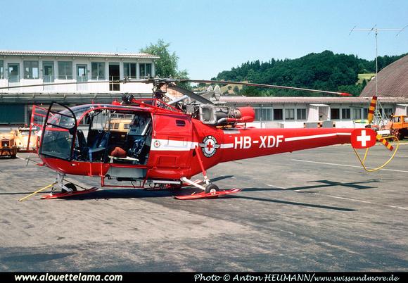Pierre GILLARD: Switzerland - REGA - Swiss Air Rescue &emdash; XDF-004979