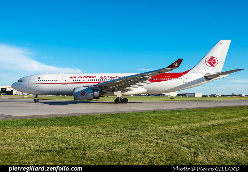 Pierre GILLARD: Air Algérie &emdash; 2016-608585