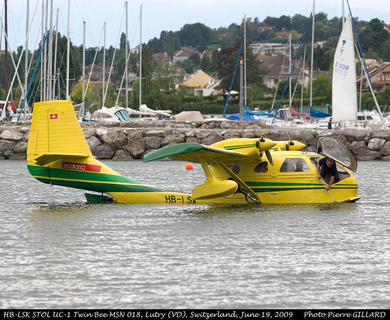 Pierre GILLARD: 2009-06-19 et 20 - Hydravions à Lutry &emdash; 2009-02580