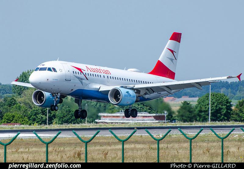 Pierre GILLARD: Austrian Airlines &emdash; 2017-703369
