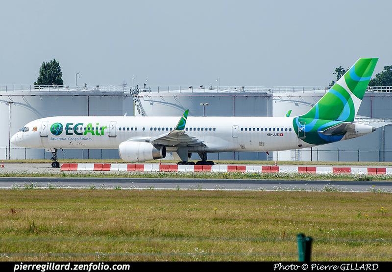 Pierre GILLARD: Equatorial Congo Airlines &emdash; 2017-703326