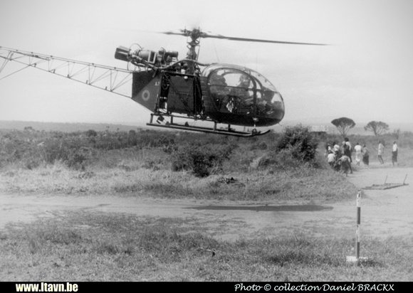 Pierre GILLARD: Aéronefs : Alouette II Artouste &emdash; A07-030246