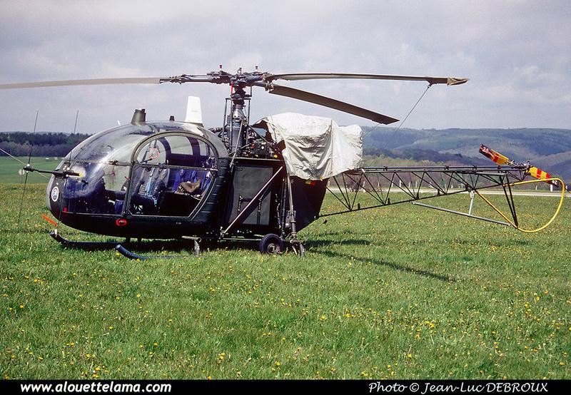 Pierre GILLARD: Aéronefs : Alouette II Artouste &emdash; A29-006305