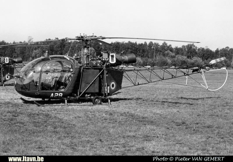 Pierre GILLARD: Aéronefs : Alouette II Artouste &emdash; A29-030247