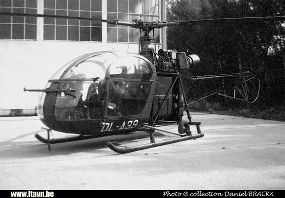 Pierre GILLARD: Aéronefs : Alouette II Artouste &emdash; A39-030249