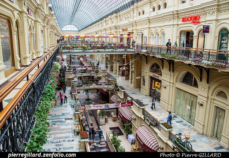 Pierre GILLARD: Moscou (Москва) : Magasins Goum - ГУМ &emdash; 2017-520105