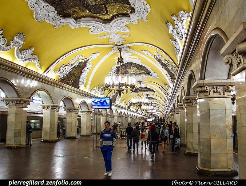 Pierre GILLARD: Moscou (Москва) : Métro - Моско́вский метрополите́н &emdash; 2017-520224