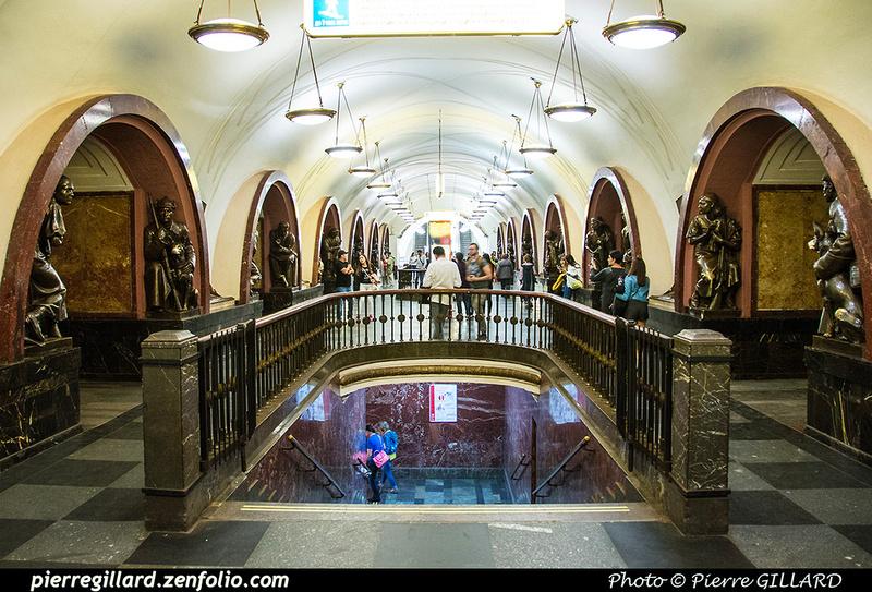 Pierre GILLARD: Moscou (Москва) : Métro - Моско́вский метрополите́н &emdash; 2017-520258
