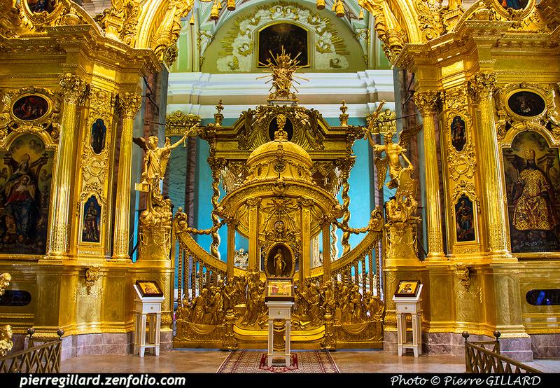 Pierre GILLARD: Saint-Pétersbourg (Санкт-Петербу́рг) : Forteresse Pierre-et-Paul (Петропа́вловская кре́пость) &emdash; 2017-521277