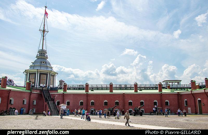 Pierre GILLARD: Saint-Pétersbourg (Санкт-Петербу́рг) : Forteresse Pierre-et-Paul (Петропа́вловская кре́пость) &emdash; 2017-521325