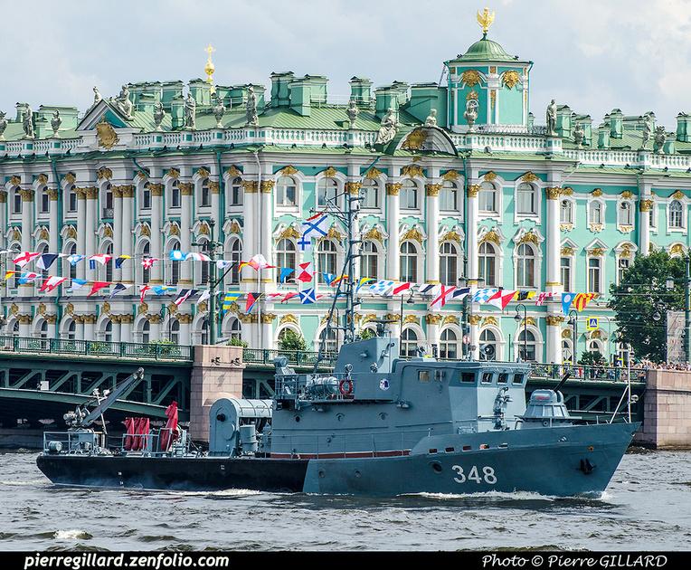 Pierre GILLARD: Saint-Pétersbourg (Санкт-Петербу́рг) :  Journée de la Marine russe (2017) &emdash; 2017-703856