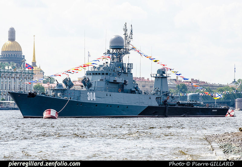 Pierre GILLARD: Saint-Pétersbourg (Санкт-Петербу́рг) :  Journée de la Marine russe (2017) &emdash; 2017-703838