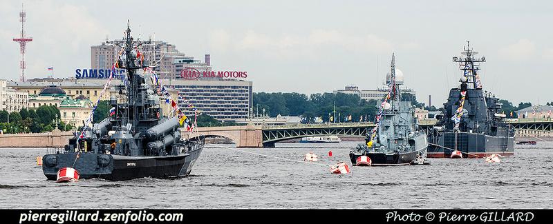 Pierre GILLARD: Saint-Pétersbourg (Санкт-Петербу́рг) :  Journée de la Marine russe (2017) &emdash; 2017-703879