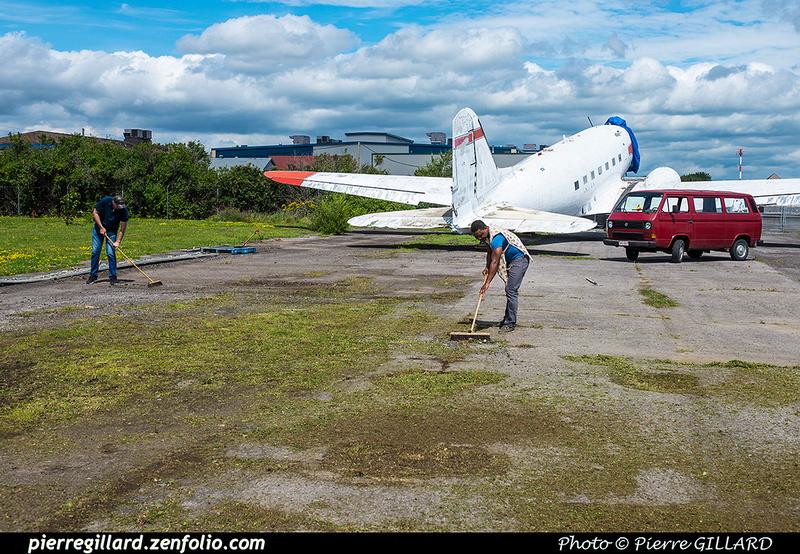 Pierre GILLARD: 2017-08-19 - Préparation du déplacement du DC-3 d'Avialogs &emdash; 2017-612221