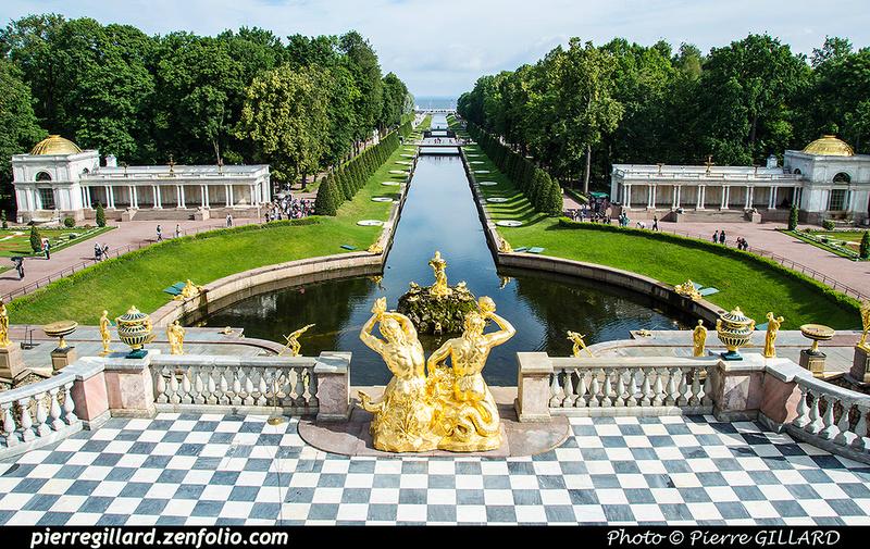 Pierre GILLARD: Peterhof (Петергоф) &emdash; 2017-521766
