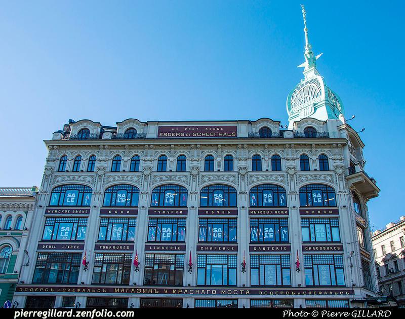 Pierre GILLARD: Saint-Pétersbourg (Санкт-Петербу́рг) &emdash; 2017-521904