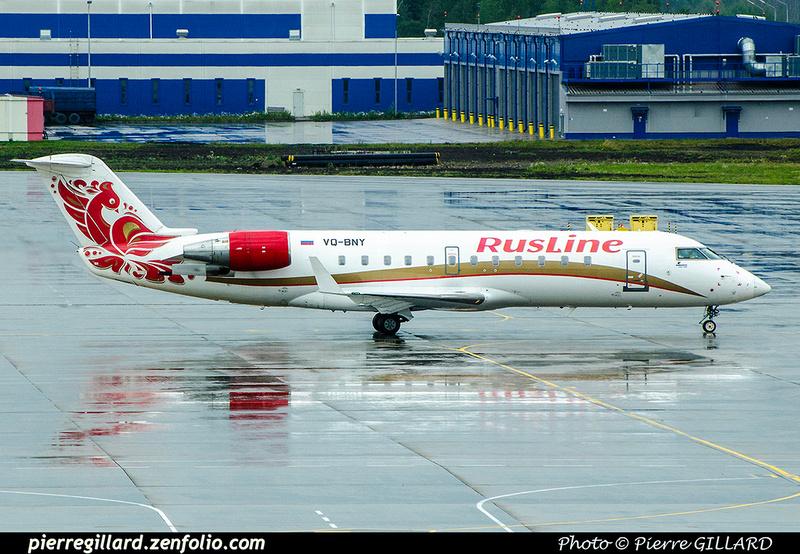 Pierre GILLARD: Rusline - Авиакомпания «РусЛайн» &emdash; 2017-703963