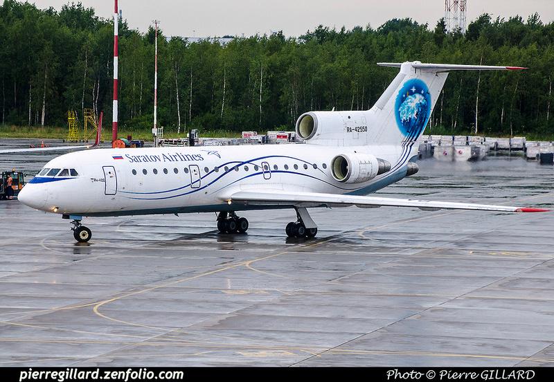 Pierre GILLARD: Saratov Airlines - Саратовские авиалинии &emdash; 2017-703973