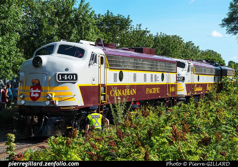"""Pierre GILLARD: Canada : CP Rail - """"CP150"""" &emdash; 2017-612110"""
