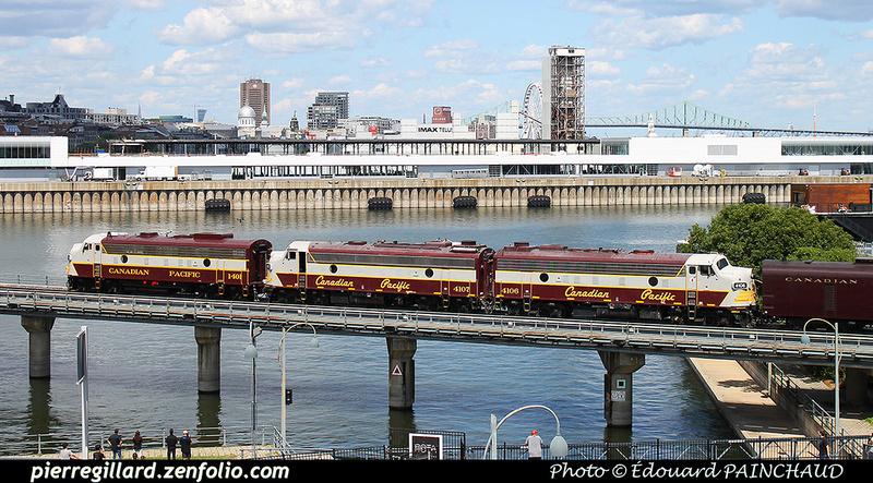 "Pierre GILLARD: Canada : CP Rail - ""CP150"" &emdash; 2017-EPA-9233"