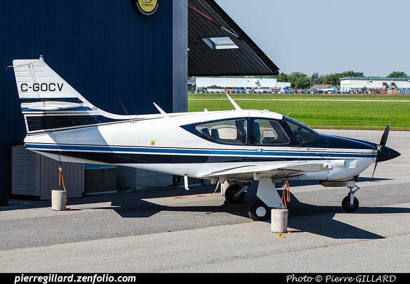 Pierre GILLARD: Private Aircraft - Avions privés : Canada &emdash; 2017-704882
