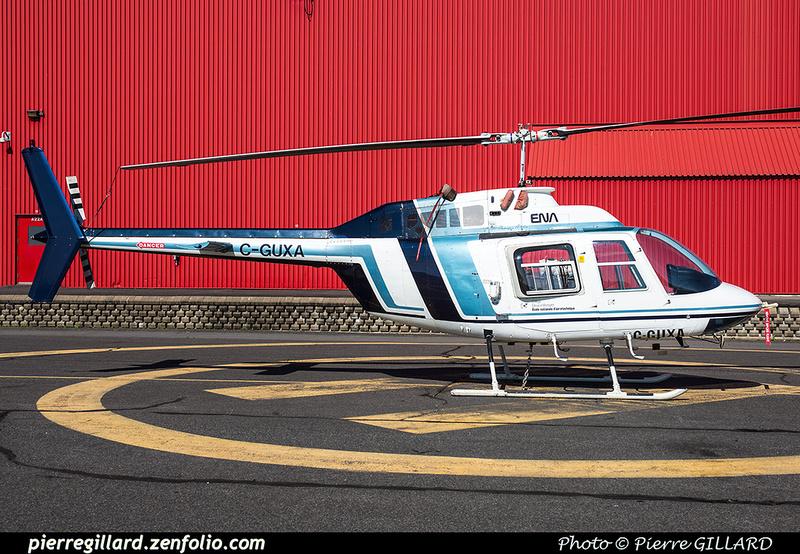 Pierre GILLARD: C-GUXA Bell 206B Jet Ranger II &emdash; 2017-613431