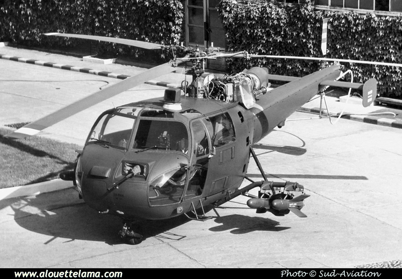 Pierre GILLARD: Prototypes : SA-3164 Alouette III Canon &emdash; 008524