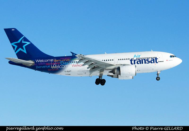 Pierre GILLARD: Air Transat &emdash; 2014-318020